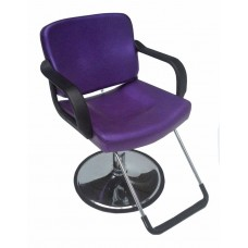 Italica 270 Sparkling Purple Hair Styling Chair Affordable For Hair Salons