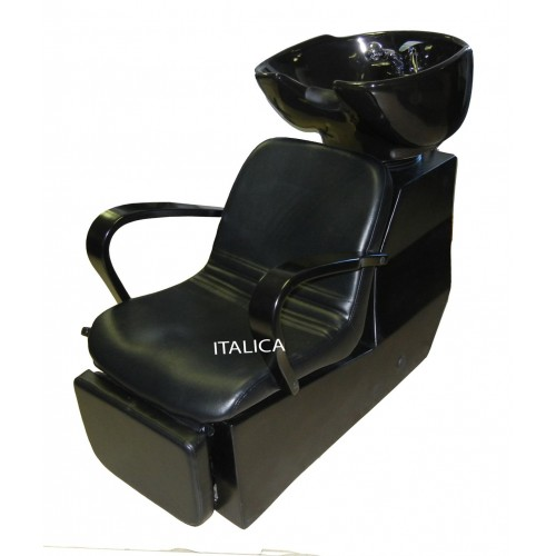 Italica 2002 Shampoo Side or Backwash Head Washing Unit With Footrest