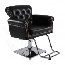 8550 Patron Tufted Thick Sofa Style Salon Chair from Italica