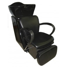 6266PS Morpheus Side or Backwash Shampoo Unit With Lever Control Footrest From Italica