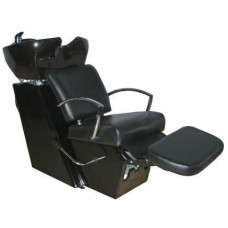 6267S Tiberius Sidewash or Backwash Shampoo Unit With Lever Control Footrest From Italica