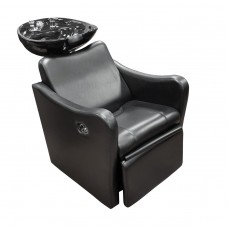 Italica 8018 Relax Side or Backwash Hair Washing Unit With Footrest
