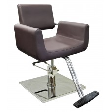 2167 Julius Espresso Brown Styling Chair Choice of Base