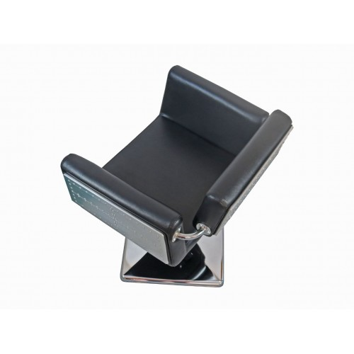Italica B09M Metal Sided Styling Chair With Riveted Design High Quality Your Choice Base