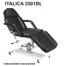 2501B Black Hydraulic Facial Treatment or Waxing Bed With Free JY08 Facial Steamer From Italica