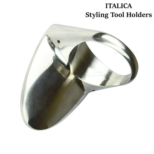 061 Wall Mounted Metal Hair Dryer Holder Italica Top Grade Wall Mount Blow Dryer Holster
