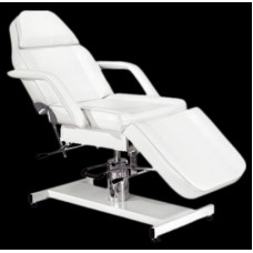 Italica 2501 White Facial Bed Hydraulic Heavy Duty High Quality Model With Free JY08 Facial Steamer