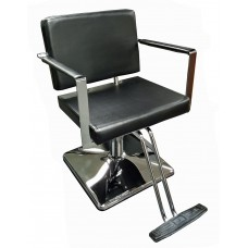 Italica 3313 Pablo Black Styling Chair Your Choice Styling Chair Base