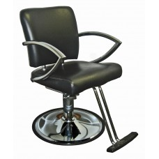 6265 Chromius Italica Hair Styling Chair Choice of Base & Footrest