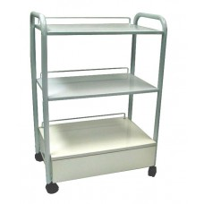 8000-2 Italica Metal Cart With Drawer