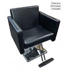 Italica 9106 Large Sofa Style Salon Chair Gaps In Chair For Hair Fall Through