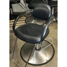 $100.00 Belvedere Used Black Styling Chairs As Is Sold Cheap