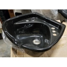 Nice Belvedere Black Acrylic Shampoo Bowl With Hanger GREAT FOR HOME SALONS!