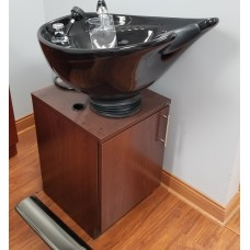 SHOWROOM MODEL Collins Tilting Backwash Pedestal Bowl With Cabinet