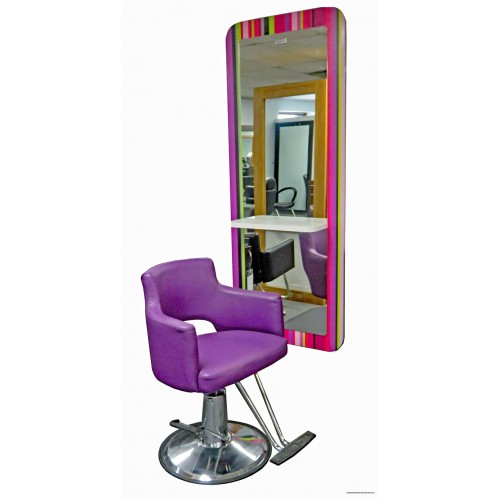 Italian Styling Mirror Showroom Model VERY COLORFUL