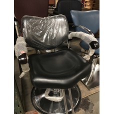 New Italica Styling Chair in Black With G2 Base Showroom Model