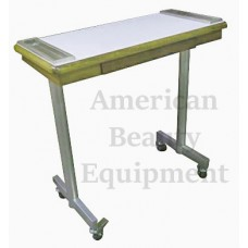 GREAT DEAL- ETOPA Manicure Tables Rolling Stainless Legs Real Wood With Drawer