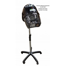 4 Speed Italian Dryer GLOB 3000 Conditioning Black Salon Hair Dryer