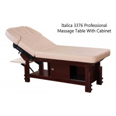 Italica 3376 Multi Purpose Massage Table With Cabinet Under Plus Lots of Extras