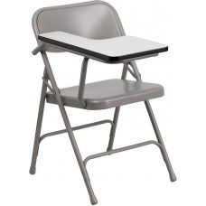 Italica 309 Premium Steel Folding Chair with Right Handed Tablet Arm