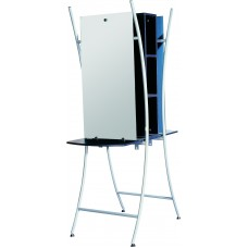 GREAT DEAL!-2518 Double Sided Styling Station Free Standing 1 New Crated Ready To Ship