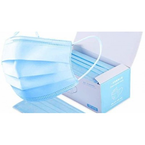 Level 1 1000 Count Disposable Face Masks 3 Ply In Stock- Free Shipping