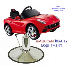 Red F12 Ferrari Kids Styling Chair Sports Car With Oversized Base