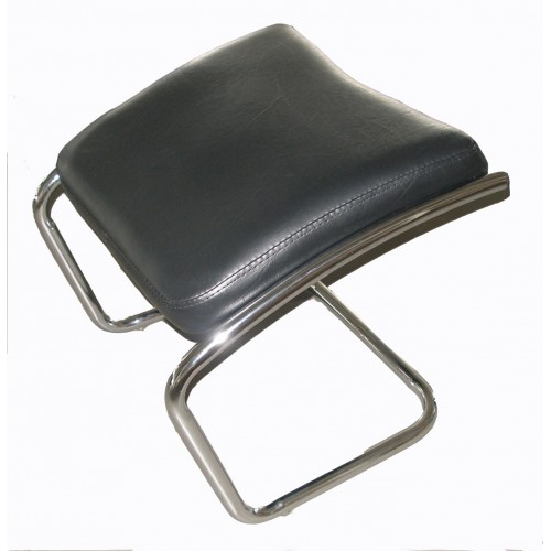 Italica 32825 Black Detached Leg Rest For Hair Styling Chairs or Shampoo Units