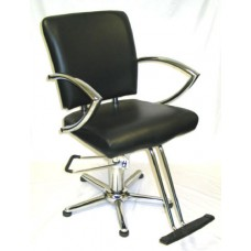 6265N Chromius Wide Hair Styling Chair From Italica Choice Base Plus Footrest