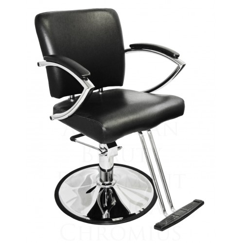 Italica 6265N Chromius Wide Hair Styling Chair Choose Choice Base Plus Footrest
