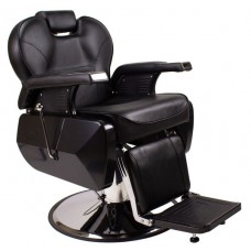 Italica Low Cost Hydraulic Barber Chair With Headrest Black