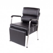 Jeffco 3900 Lever Recline Shampoo Chair Black