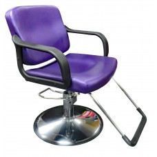 FREE SHIPPING Italica 270 Sparkling Purple Hair Styling Chair Affordable For Hair Salons