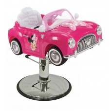 Disney Minnie Mouse Sports Car Hair Styling Chair Car From Italica Beauty Equipment