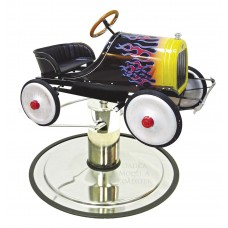 Hot Rod Boys Styling Chair Car Large Interior Chassis For Ages 3-10 Years