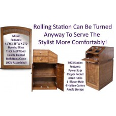 FREE SHIPPING 8 Pack 5003 Rolling Station & 8 Free Mirrors