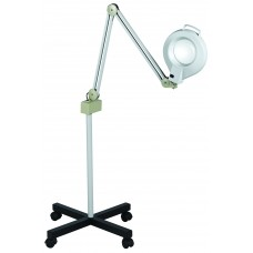Free Ship 205 Five Diopter Magnifying Lamp From Italica With 5 Spoke Caster Base