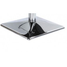 "Polished 20 X 20"" Chrome Pyramid Style Raised Floor Plate Square"