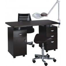 TOTALLY Great Deal Black Top Manicure Table 2022 High Quality From Italica