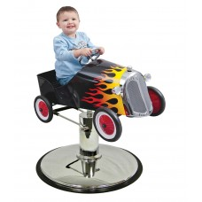 Old Flame Large Roadster Styling Chair Car For Your Hair Salon