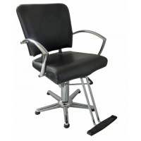 Italica 6267N Tiberius Wide Hair Styling Chair From Italica Choice Base Plus Footrest