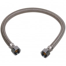 "1/2"" to 1/2"" Braided Polymer Faucet Connector Hose"