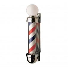 William Marvy 333NR Model NON-REVOLVING Barber Pole Two Light Globe Top Model