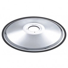 "Italica HG1 24"" Floor Plate With 4 Holes Includes Rubber Ring"
