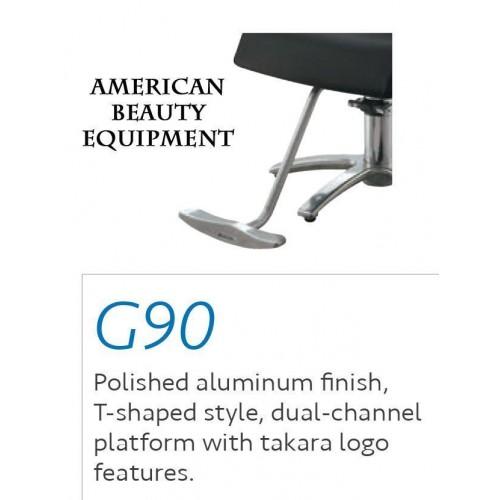 Takara Belmont G90 Japanese Alumium Footrest