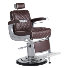 Free Shipping Elegance Diamond Stitch Barber Chair With Headrest