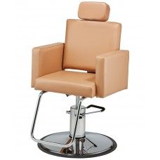 Pibbs 3447 Cosmo Brow Threading Chair With Headrest