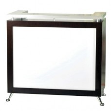 Pibbs 5057 LED Lit Panel Reception Desk
