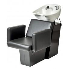 Pibbs 5234 Cosmo Shampoo Side or Backwash Sliding Chair Tilting Shampoo Bowl