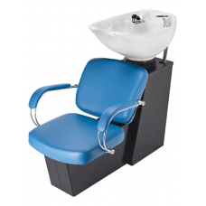 Pibbs 5239 Latina Shampoo Side or Backwash Sliding Chair Tilting Shampoo Bowl